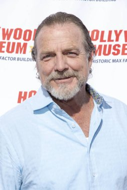 Darby Hinton attends The Hollywood Museums Ida Lupino and Olivia De Havilland Celebration at Hollywood Museum, Hollywood, CA on June 30, 2019