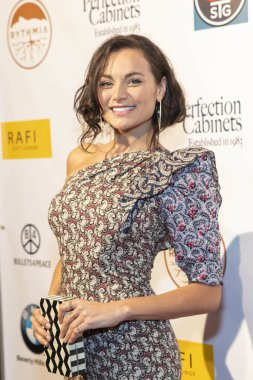 Christina Ochoa attends 2019 Pre-Oscars Rafi's Choice Gifting Suite and Concert at Waldorf Astoria Hotel, Beverly Hills, CA on February 22th, 2019