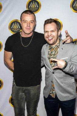 Shim, Cody Matthew Johnson attend Hollywood Music In Media Awards at Avalon Hollywood, Hollywood, CA on November 20, 2019