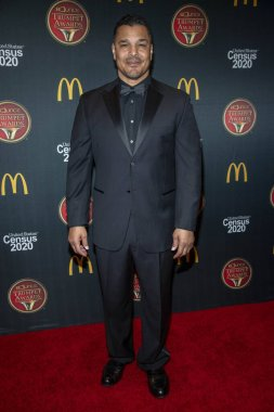 Geno Segers attends 28th Annual Bounce Trumpet Awards at Dolby Theater, Hollywood, CA on December 4, 2019