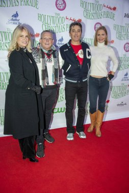 Jennifer Runyon, Willie Aames, Scott Baio, Josie Davis attend 88th Annual Hollywood Christmas Parade Featuring Marine Toys for Tots on Hollywood Boulevard, Hollywood, CA on December 1, 2019