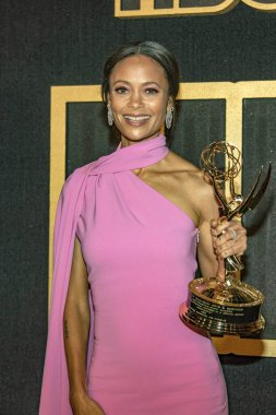 Thandie Newton attends HBOS Post Award Reception Following The 70th Primetime Emmy Awards at The Plaza At The Pacific Design Center, Los Angeles, California on September 17th, 2018