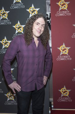 Weird Al Yankovic arrives at Celebrity Connected 2016 Luxury Gifting Suite Honoring The American Music Awards November 19th, 2016 in Holllywood, California.