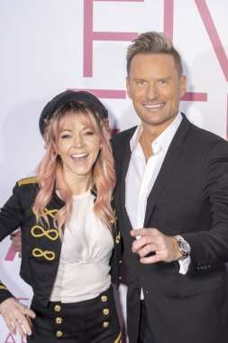 Lindsey Stirling, Brian Tyler attend