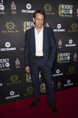 Chris Devlin attends 19th Annual Beverly Hills Film Festival, Hollywood, CA on April 3rd, 2019