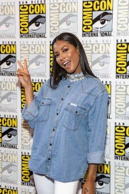 Lex Scott Davis attends Comic-Con International San Diego 2018 USA's