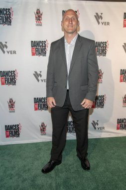 Chris Barber attends 90 Feet From Home Dances With Films Festival World Premiere at TCL Chinese Theatre, Hollywood, CA on June 20, 2019.