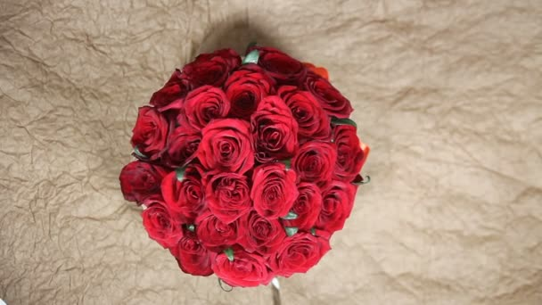 Red roses flowers bouquet romantic romance love