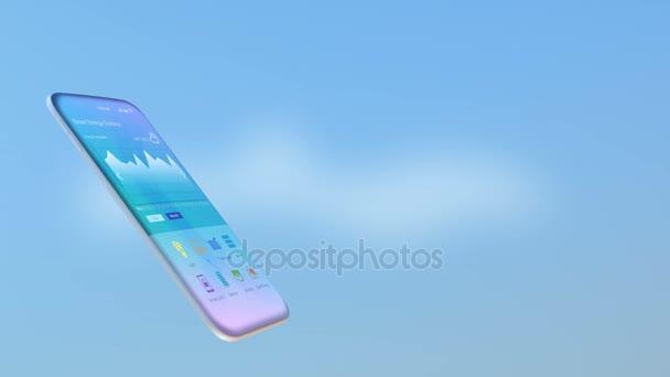 Smart appliances pop up from smart phone