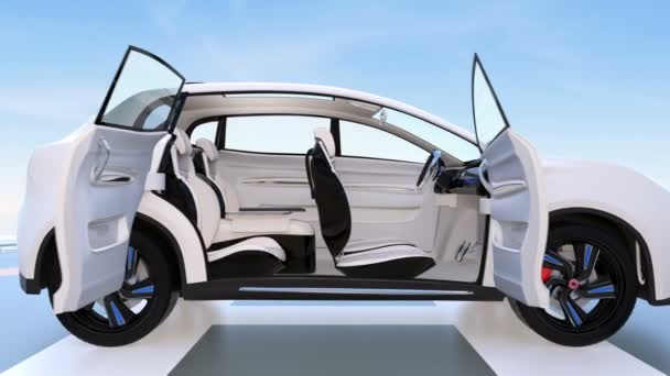 Autonomous car interior design