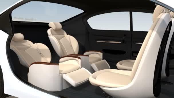 3D animace obchodní setkání rozložení ve vlastním vozem
