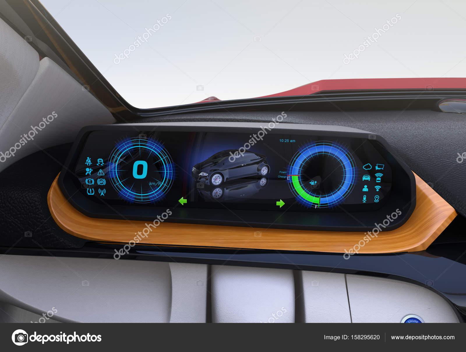 vue de l indicateur de vitesse num rique sur plateau en bois photographie chesky w 158295620. Black Bedroom Furniture Sets. Home Design Ideas