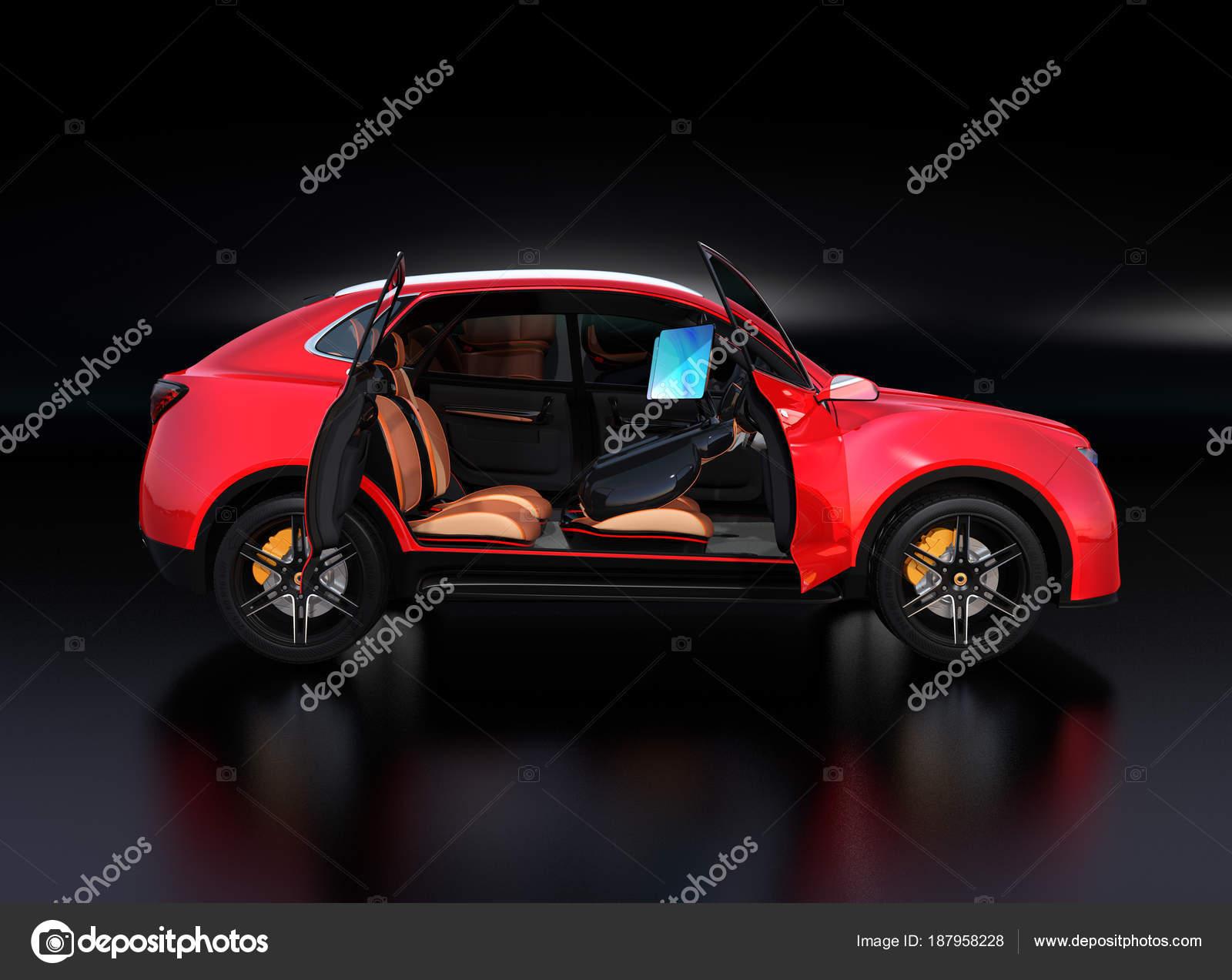 Electric self driving suv car interior design front seats equipped electric self driving suv car interior design front seats equipped stock photo solutioingenieria Choice Image