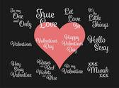 frohe Botschaft zum Valentinstag