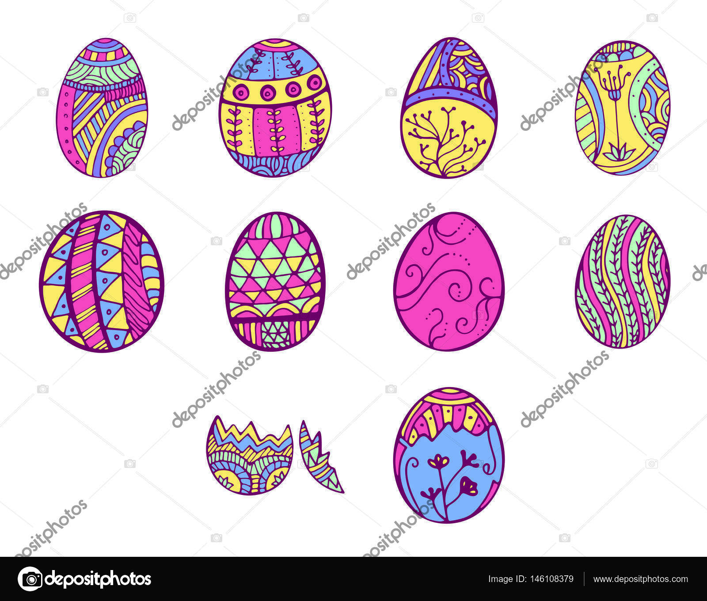 Greeting card with easter egg symbol stock vector greeting card with easter egg symbol stock vector 146108379 buycottarizona
