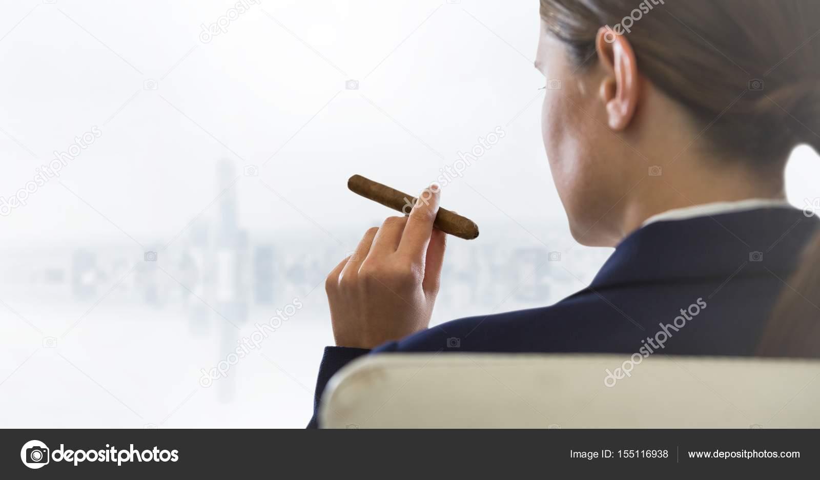 kouření doutníků