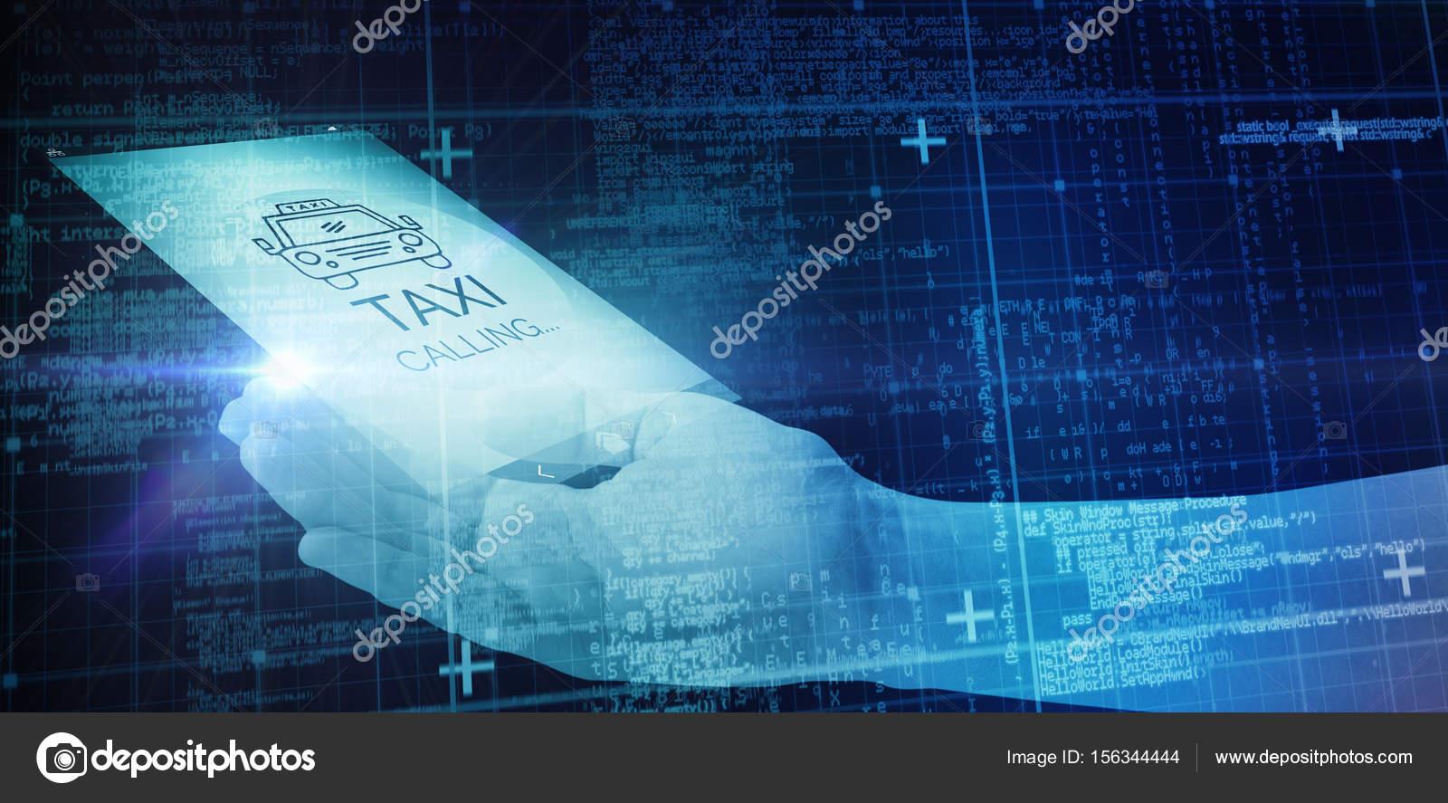 Códigos y matrix azul — Foto de stock © vectorfusionart #156344444