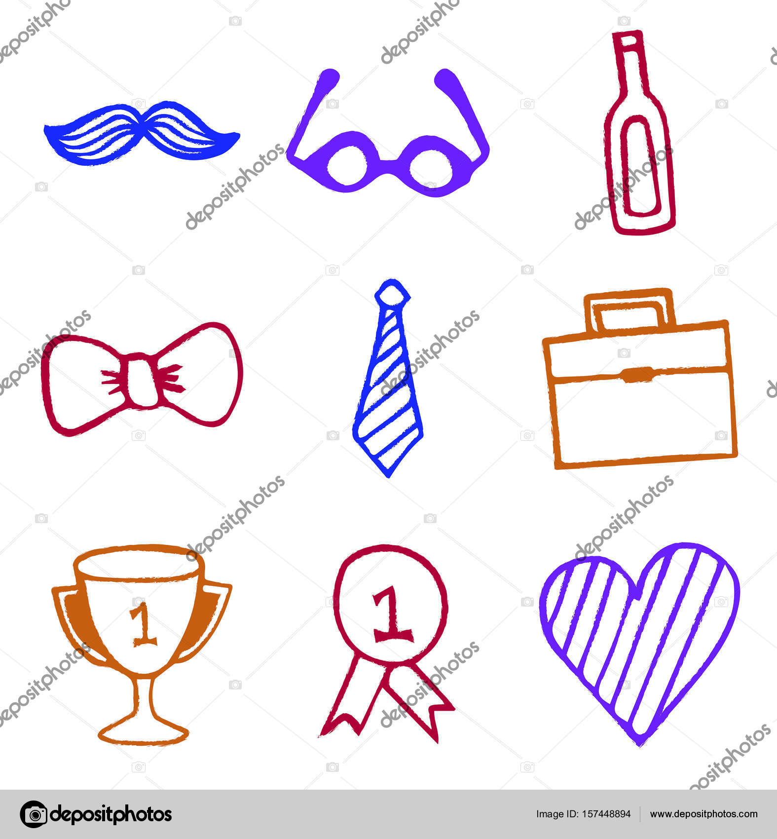 Vector set of symbols representing number one dad stock vector vector set of symbols representing number one dad stock vector buycottarizona