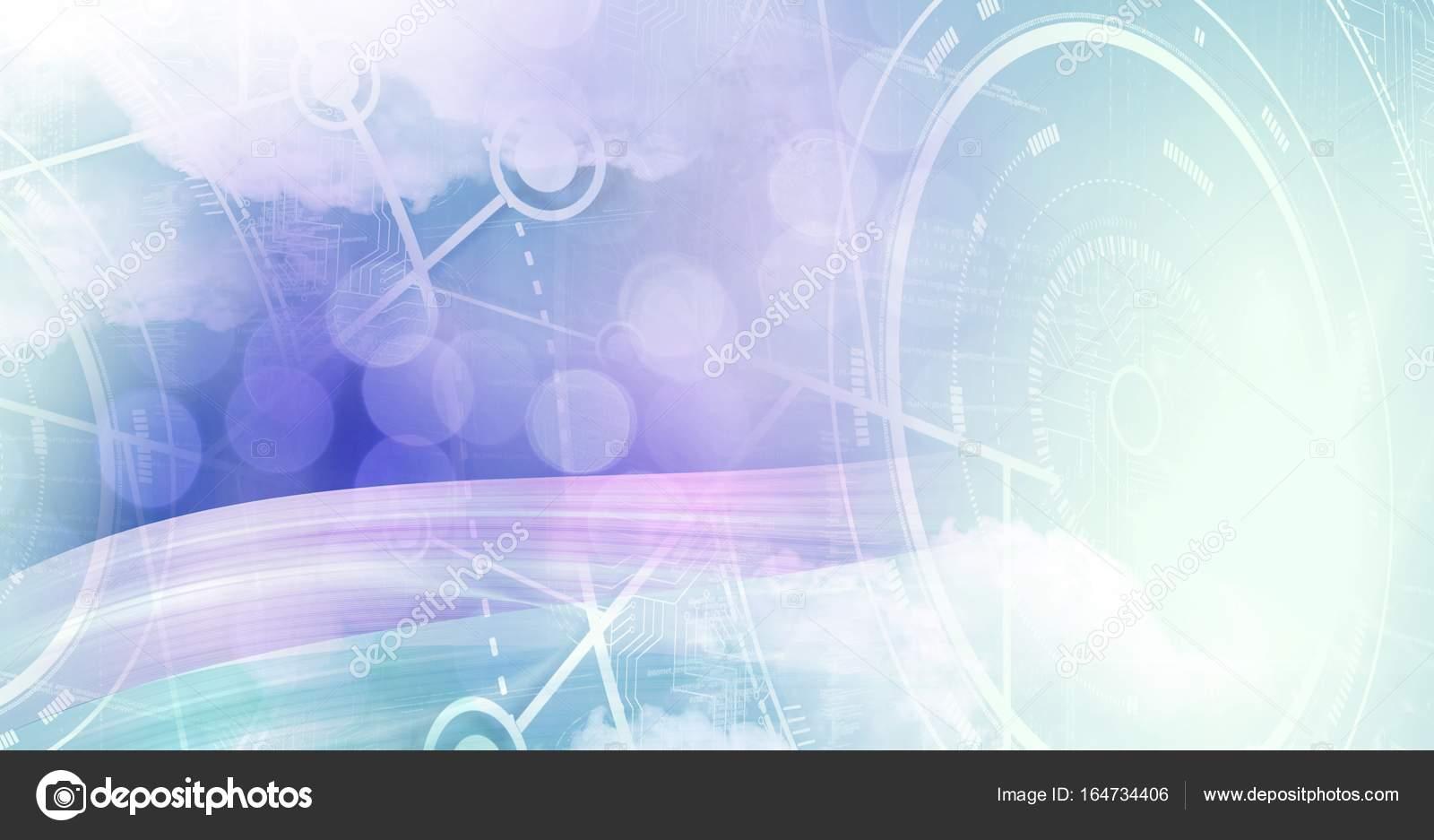 Abstrakte Übergang mit Schnittstelle Diagramme — Stockfoto ...