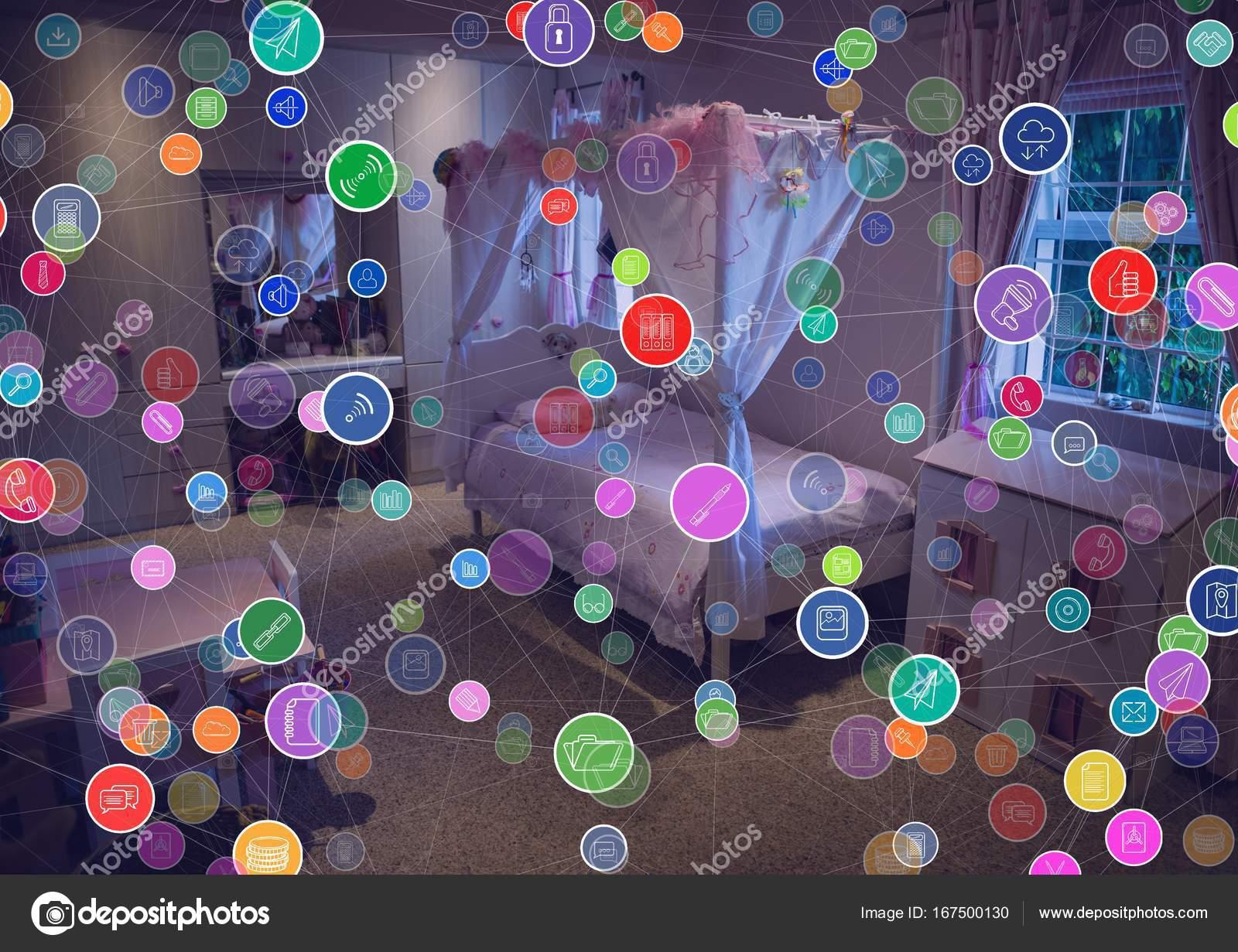 Anschlüsse über Haus — Stockfoto © vectorfusionart #167500130