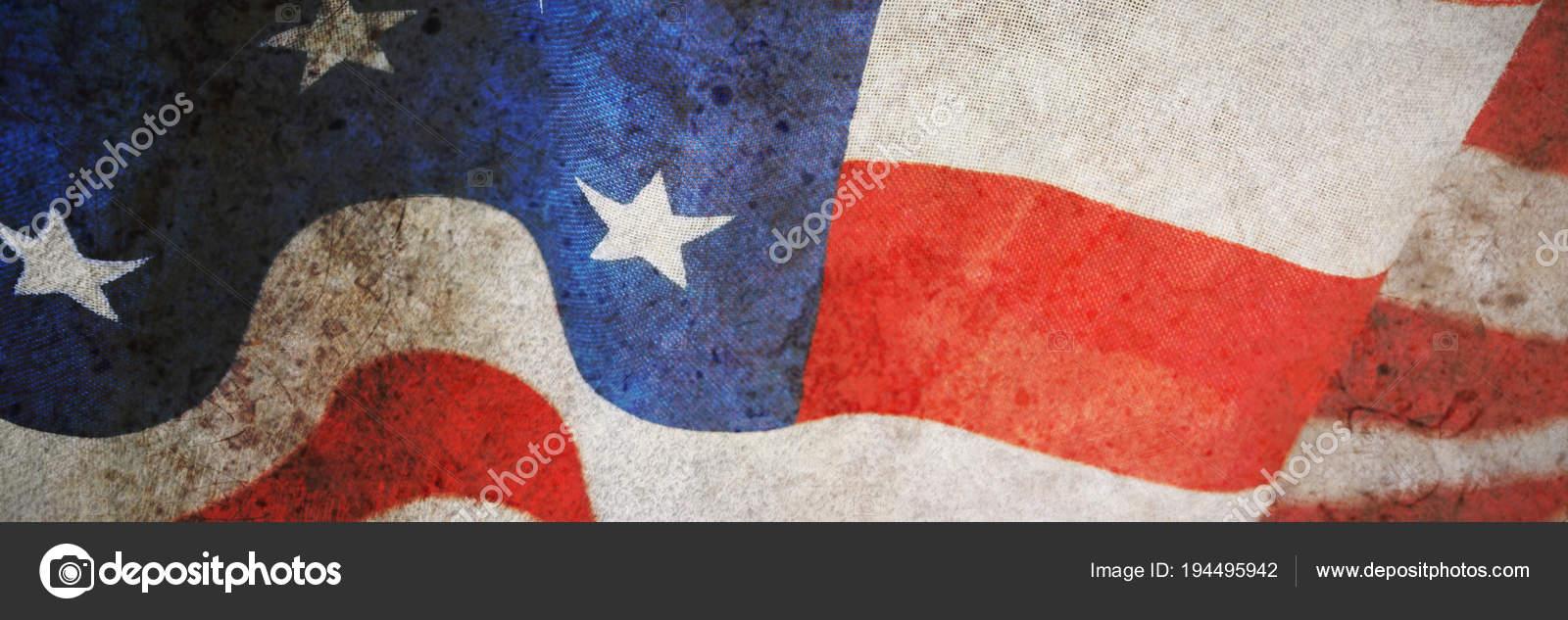 11215aba8cb8 Close American Flag Stripes Stars — Stock Photo © vectorfusionart ...