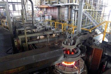 Metal Eritme Fırını çelik fabrikaları