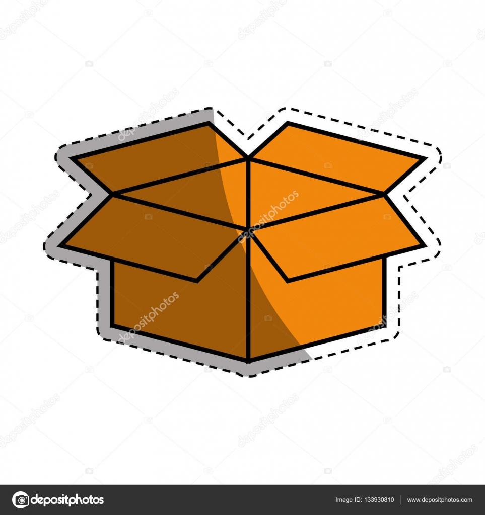 Open Box Symbol Stock Vector Djv 133930810