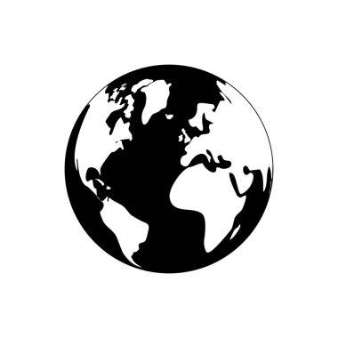 Isolated world earth