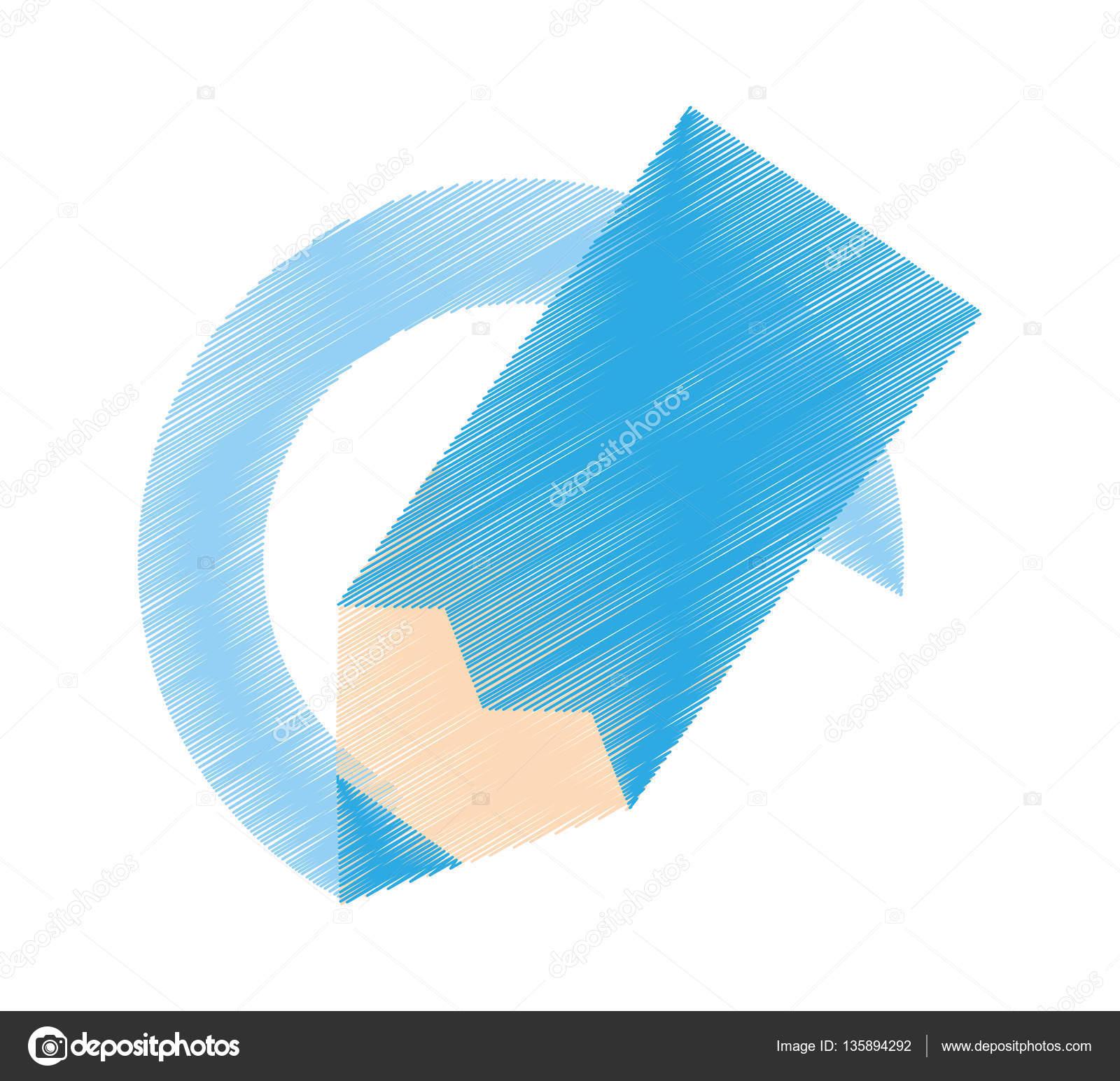 Dessin Cole De Peinture De Couleur Bleue Image Vectorielle Djv