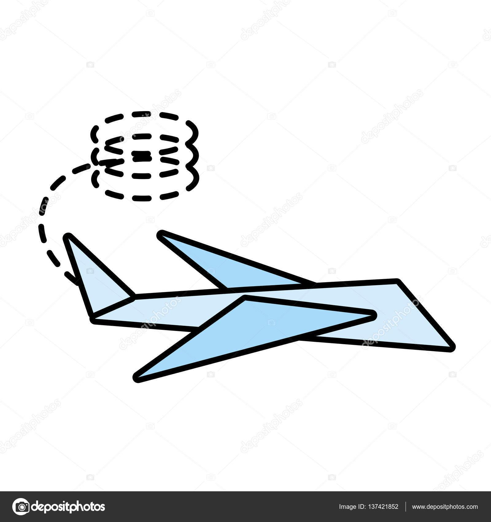 Niedlich Einfache Papierflugzeug Vorlage Zeitgenössisch - Entry ...