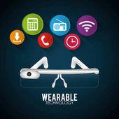 VR brýle nositelná technologie digitální