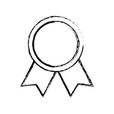 Medal award ribbon