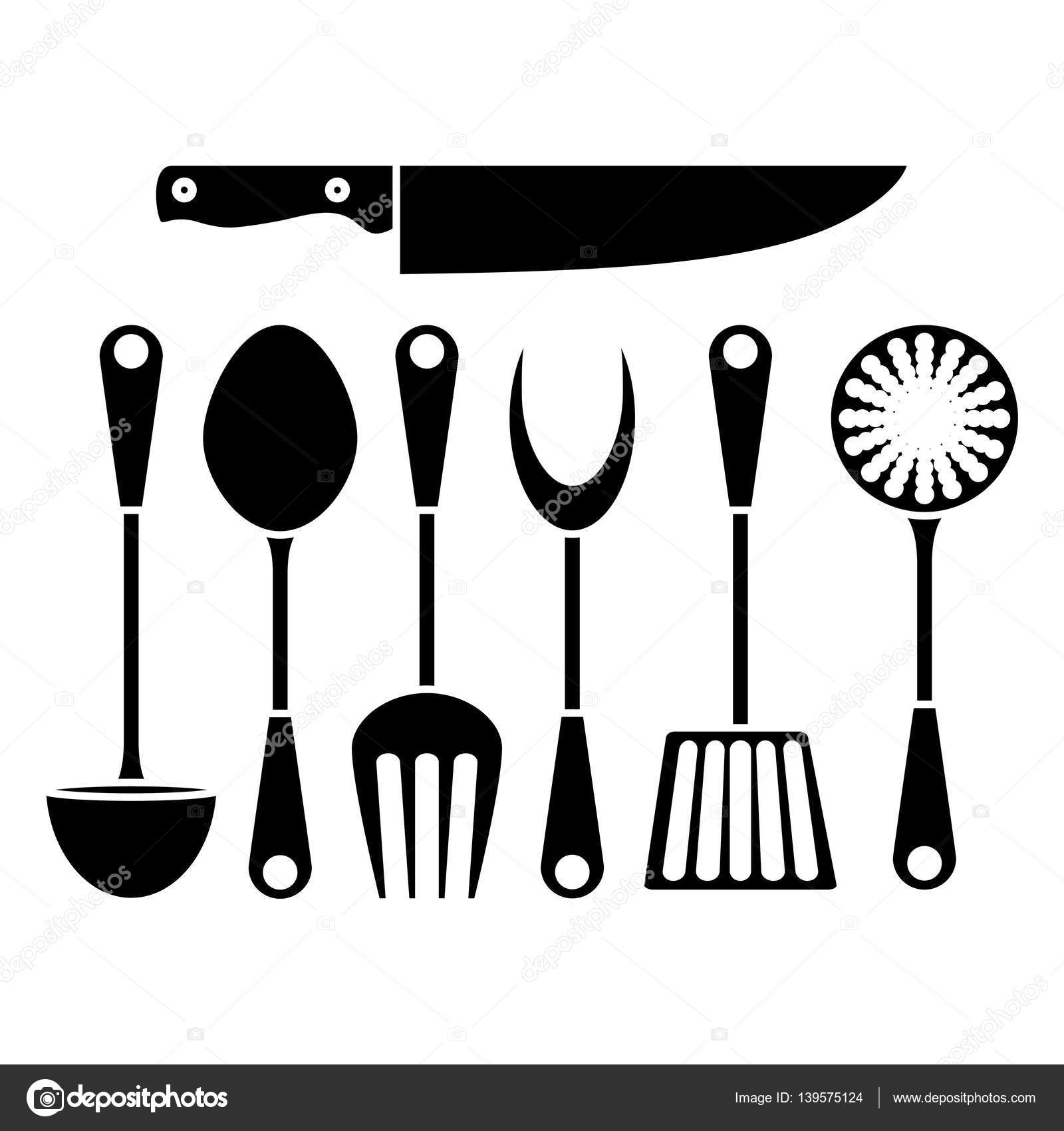 set royalty and stock supplies vector photo vectors cliparts free kitchen of