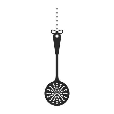 Black skimmer icon image design