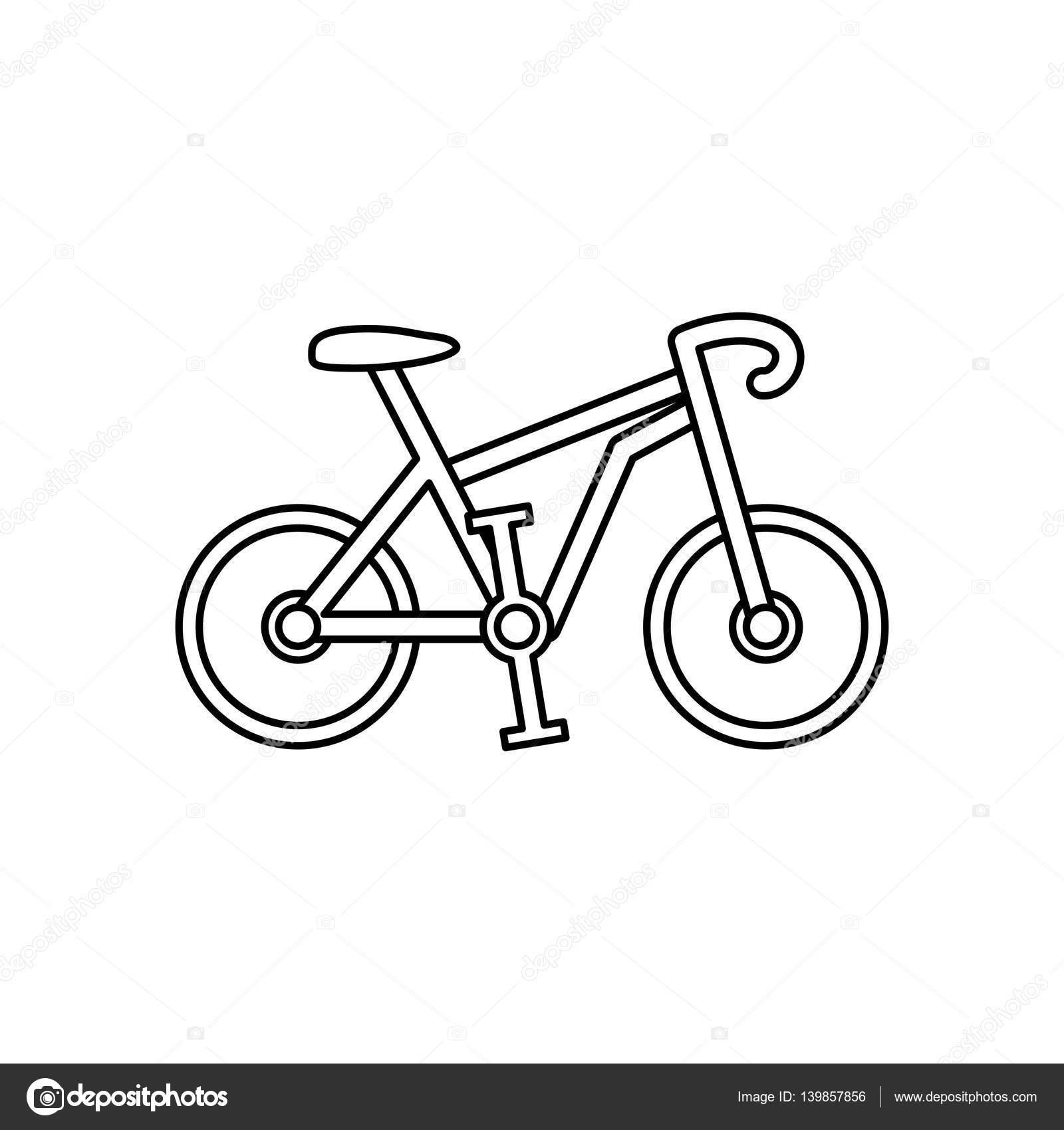 Bici Da Corsa Sport Vettoriali Stock Djv 139857856