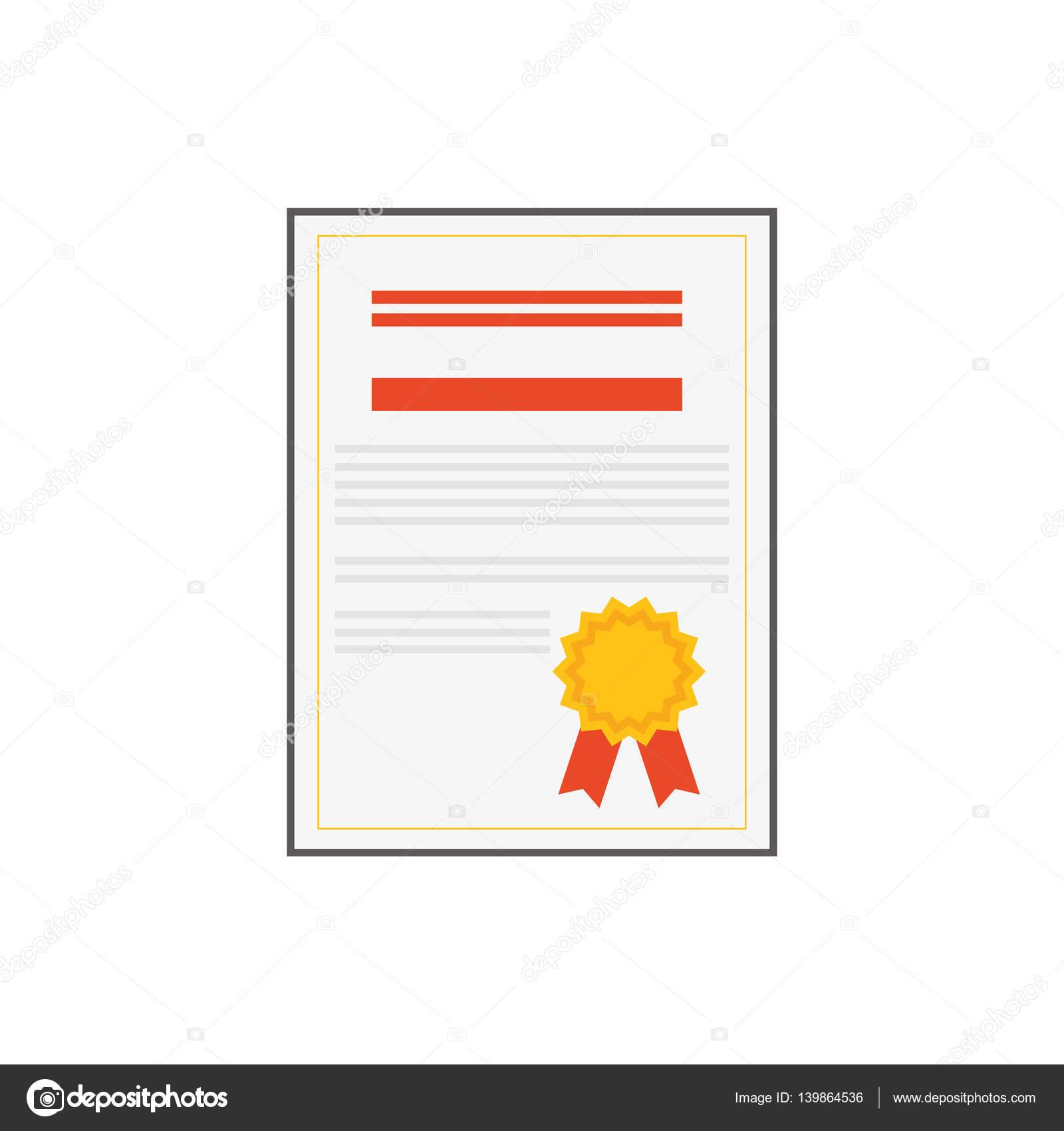 Diplom-Ausbildung-Zertifizierung — Stockvektor © djv #139864536