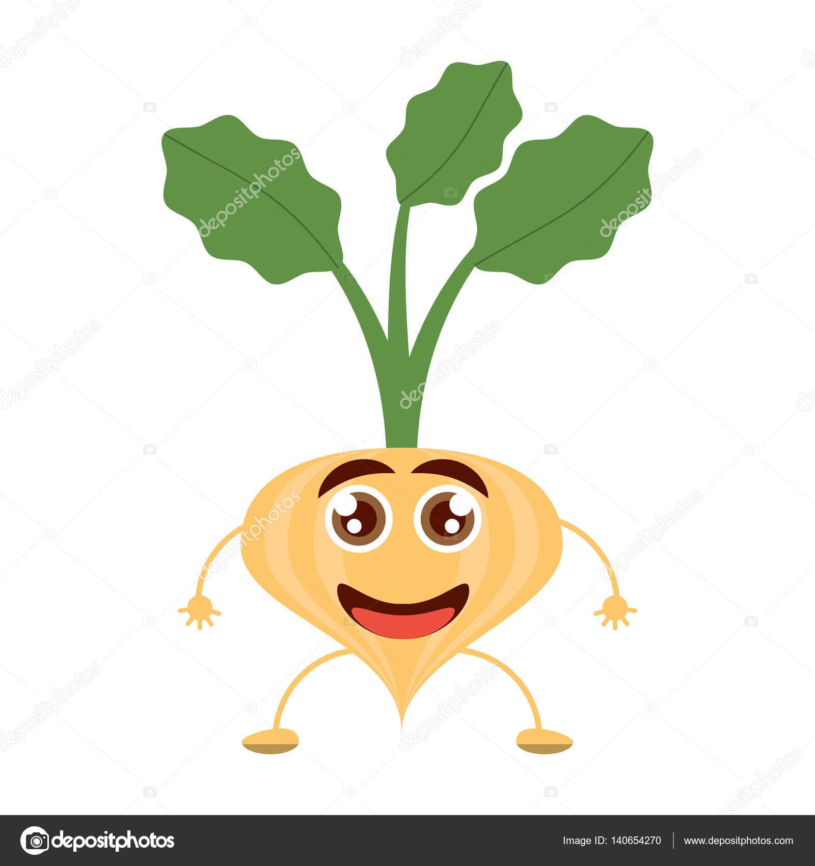 Kreskówka Cebula Szczęśliwy Warzywo Grafika Wektorowa