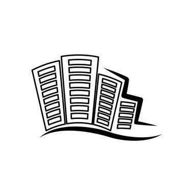 city buildings symbol