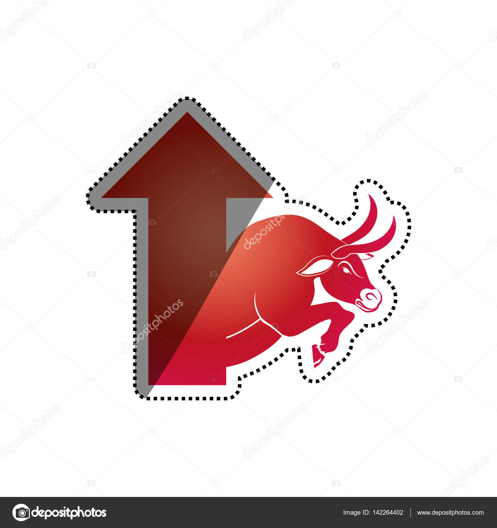 Share market symbol choice image symbol and sign ideas bull stock market symbol stock vector djv 142264402 bull stock market symbol icon vector illustration graphic buycottarizona