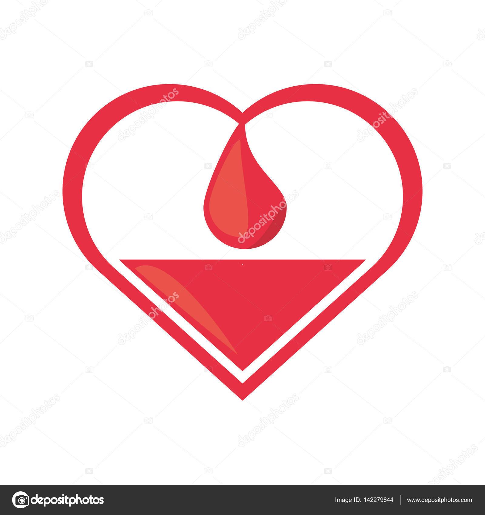 Heart drop blood donation symbol stock vector djv 142279844 heart drop blood donation symbol stock vector buycottarizona