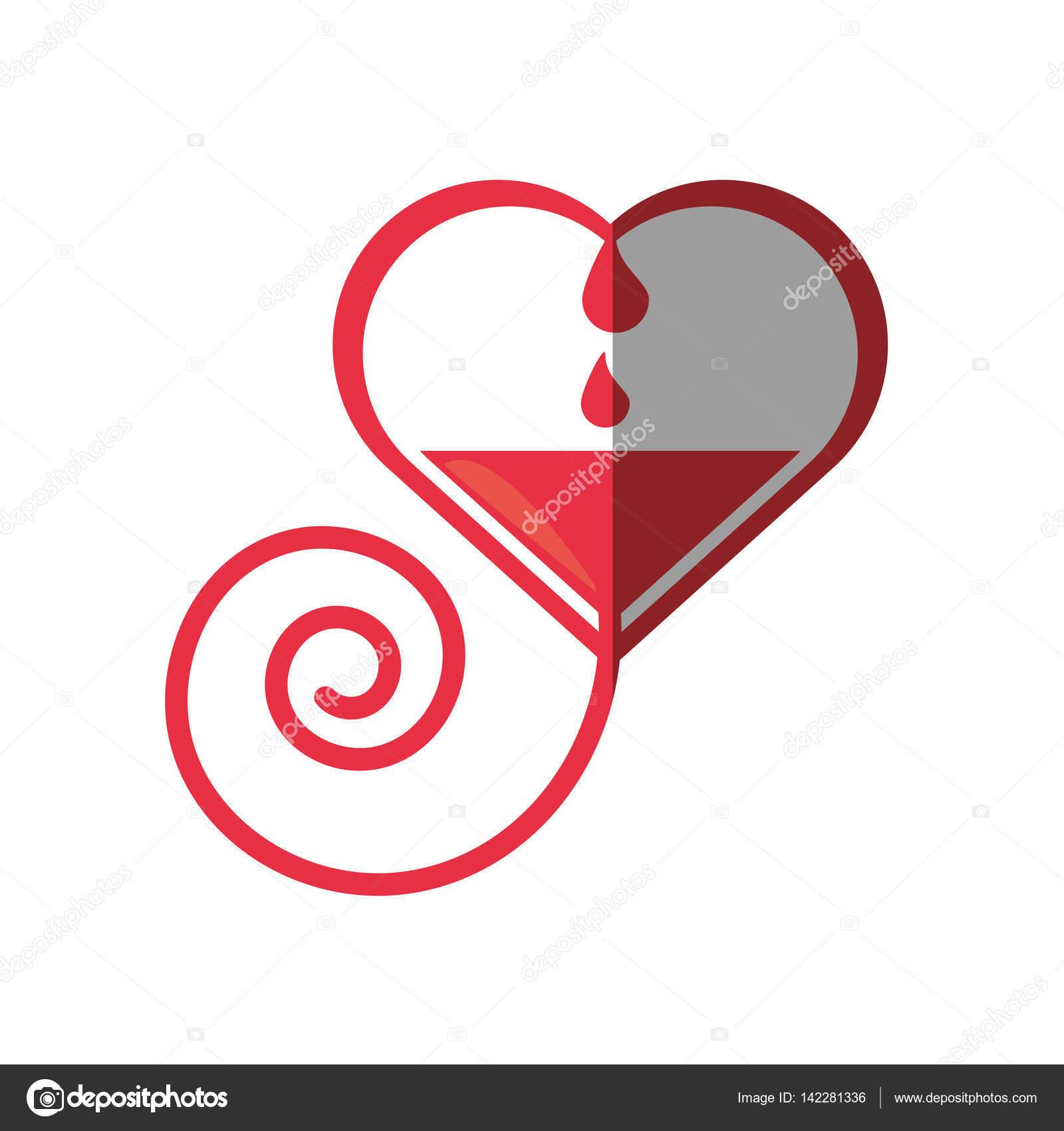 Heart blood donation symbol stock vector djv 142281336 heart blood donation symbol stock vector buycottarizona