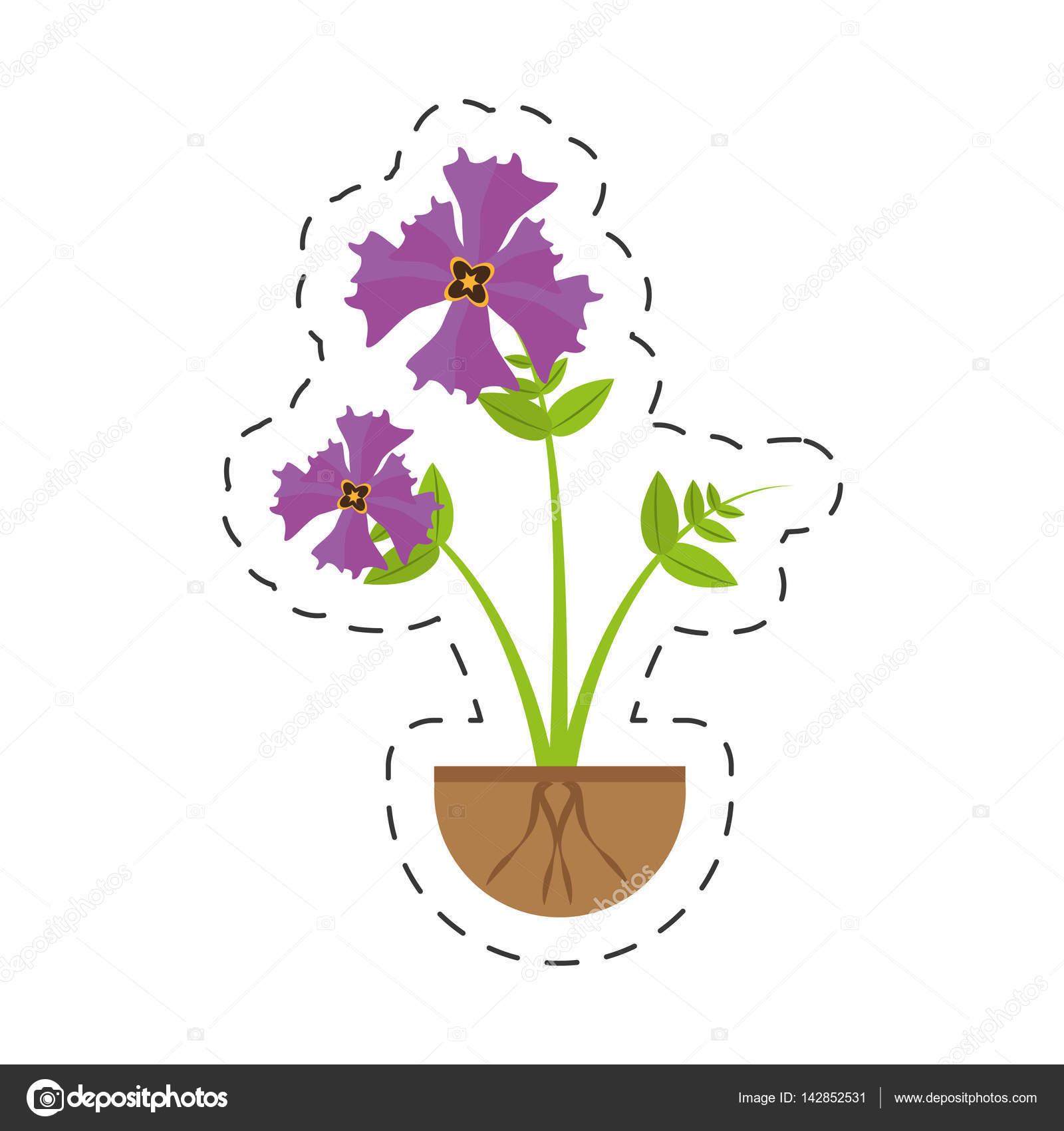 Iris flower garden growing stock vector djv 142852531 iris flower garden growing stock vector izmirmasajfo
