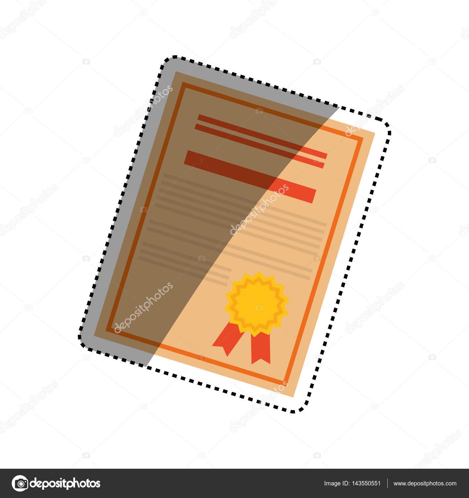 Diplom-Ausbildung-Zertifizierung — Stockvektor © djv #143550551