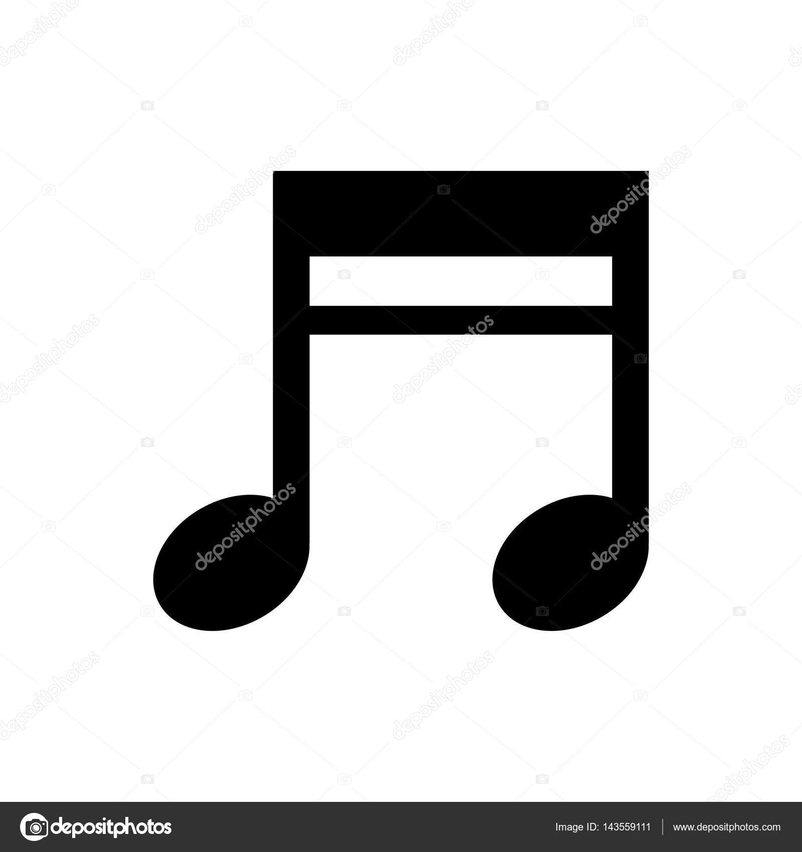 Music Note Symbol Stock Vector Djv 143559111