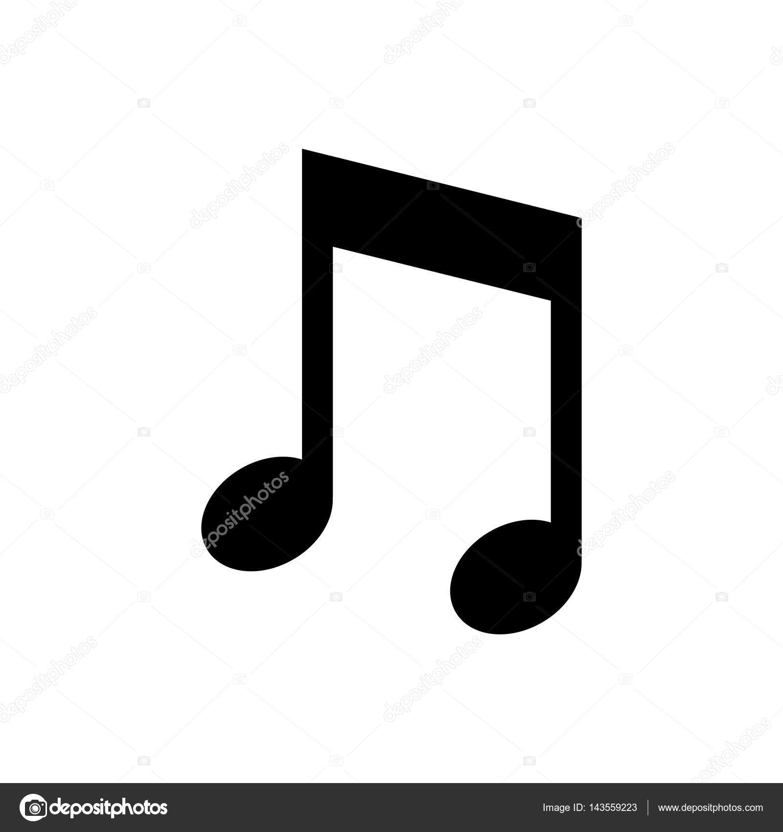 Music Note Symbol Stock Vector Djv 143559223