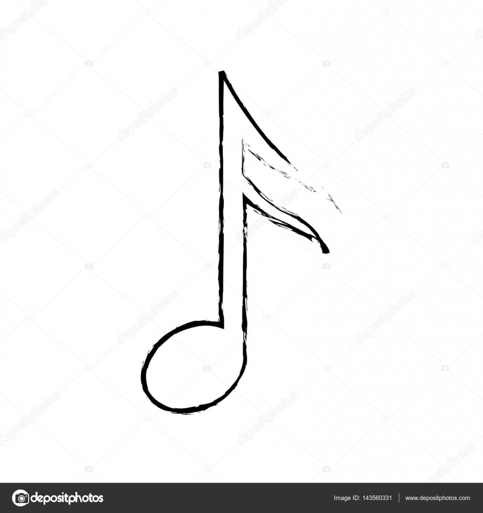 Music note symbol stock vector djv 143560331 music note symbol stock vector buycottarizona
