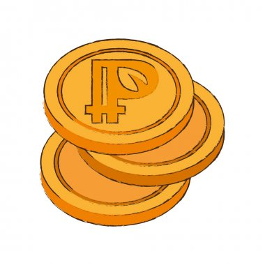 peercoin cryptocurrency stack icon