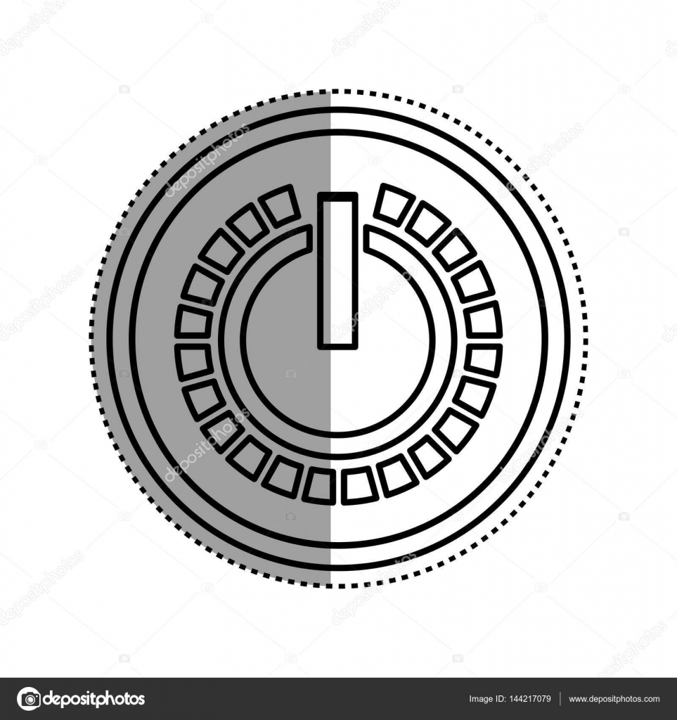 On off switch power — Stock Vector © djv #144217079