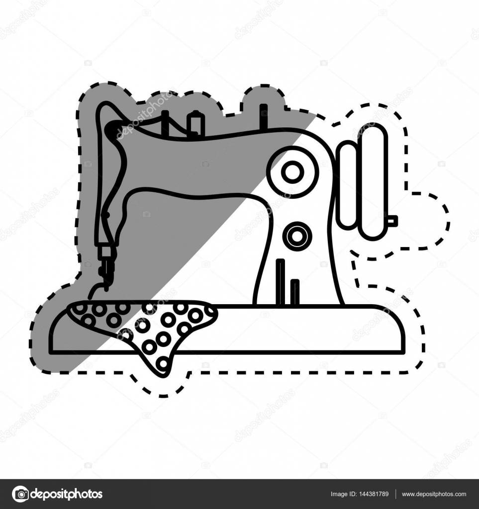 Sewing Machine Graphic