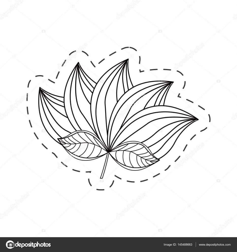 Ligne De Coupe Decoration De Fleur De Lotus Image Vectorielle Djv